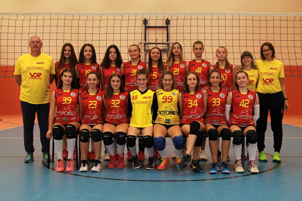 AS Volley Rotomet U16 Gialla