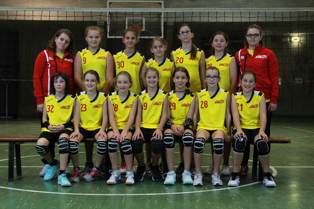 AS Volley Auxilium U12 Gialla
