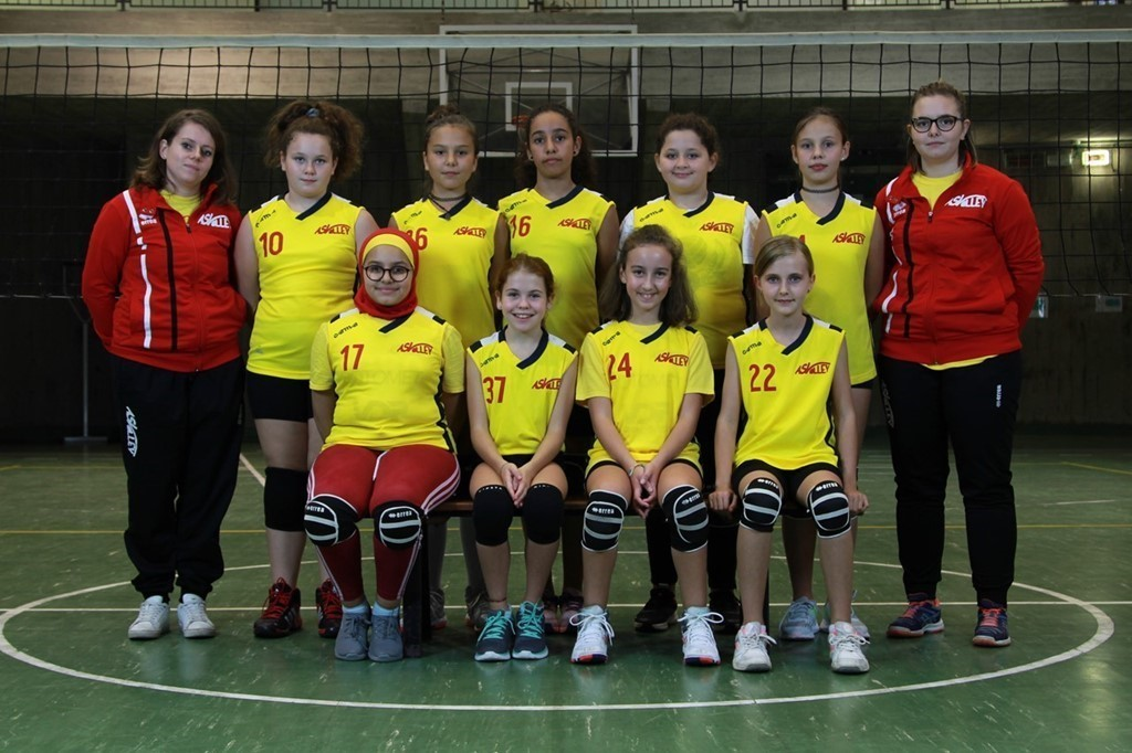 AS Volley Auxilium U12 Rossa