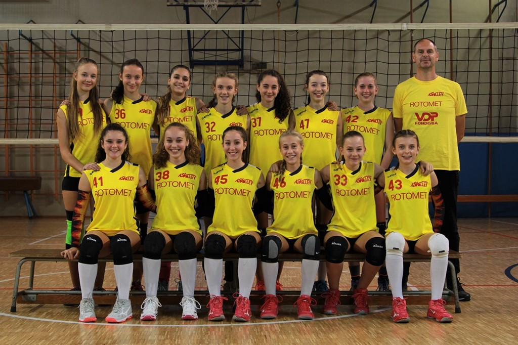 AS Volley Santorso U14 Rossa