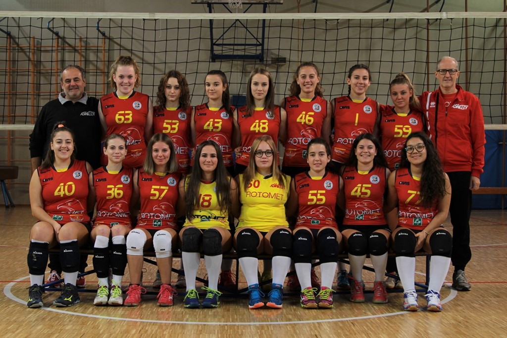 AS Volley Rotomet U18