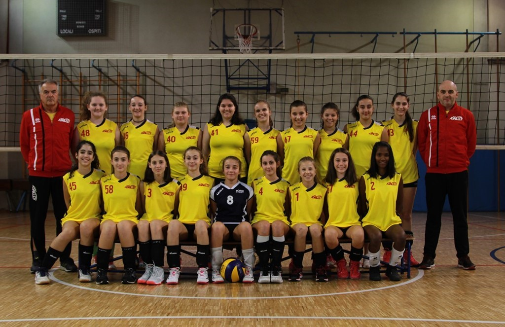 AS Volley Auxilium U14 Gialla